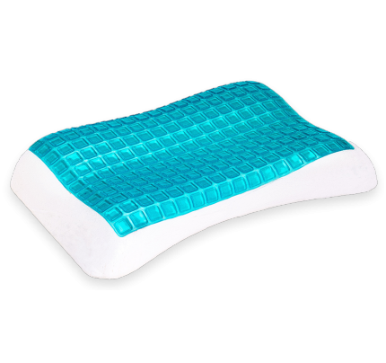 254 Anatomical Pillow Classic Memory Plus Cool Gel 68x40x9-11cm