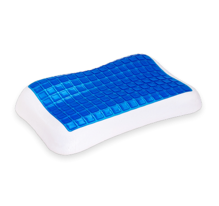 257 Anti-allergenic Pillow Memory Cool Gel Multi-Level 62x38x7-11cm